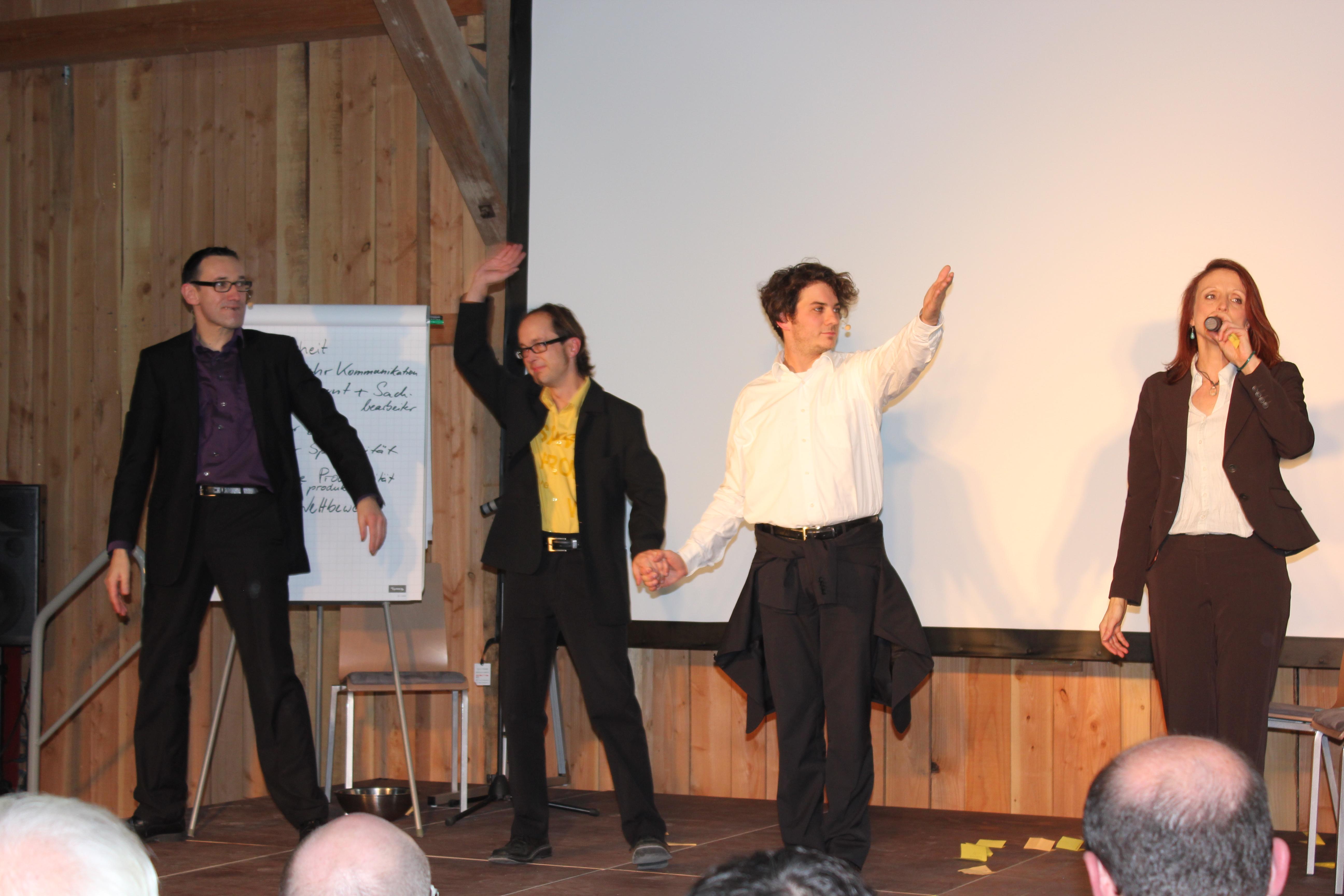 Mit Businesstheater und Unternehmenstheater Stuttgart ihre Themen in Szene setzen