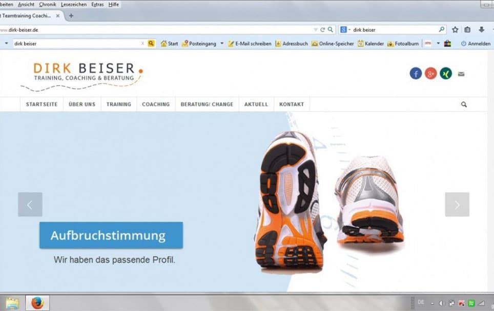 Dirk Beiser neue Webseite Online Blogbeitrag