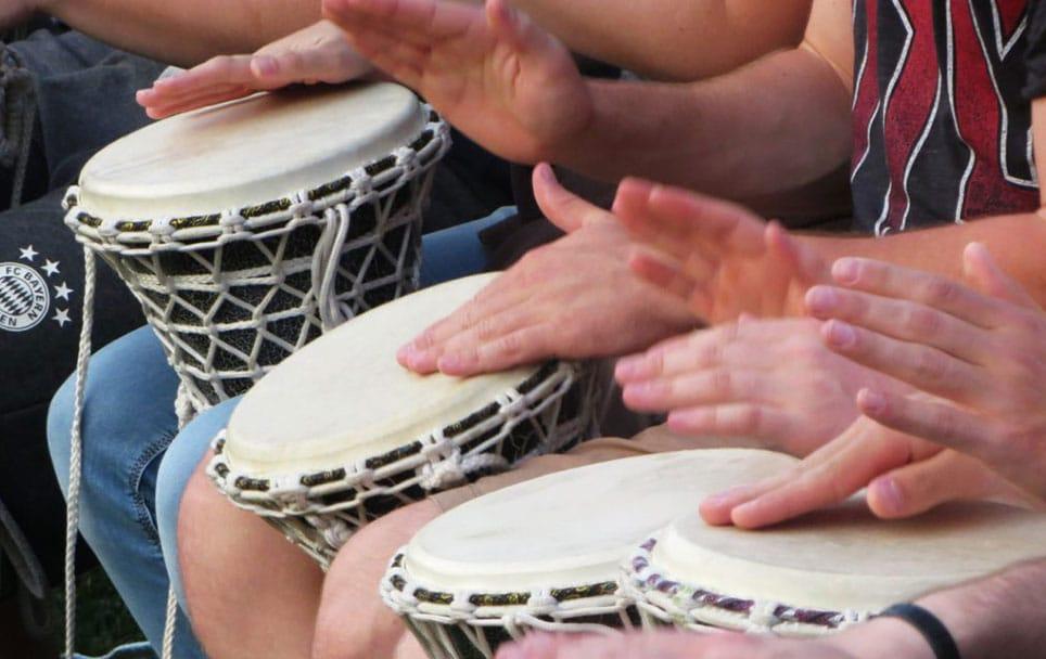 Drum Circle als Trommelworkshop Stuttgart