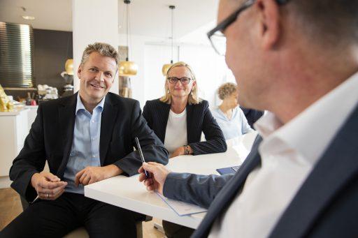 Führungskräfte entwickeln die Zukunft ihres Unternehmens
