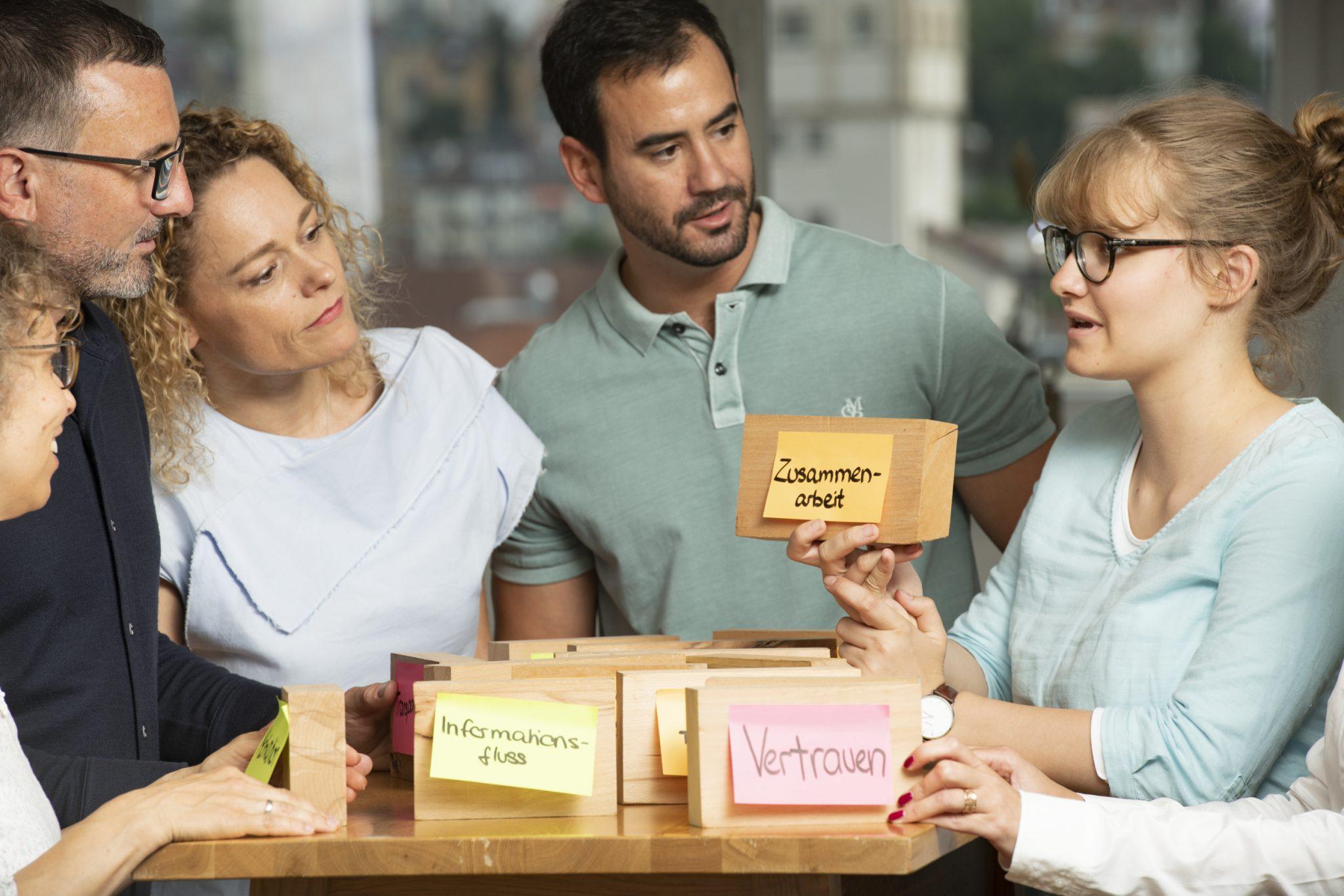 Kommunikation durch systematische Teamarbeit