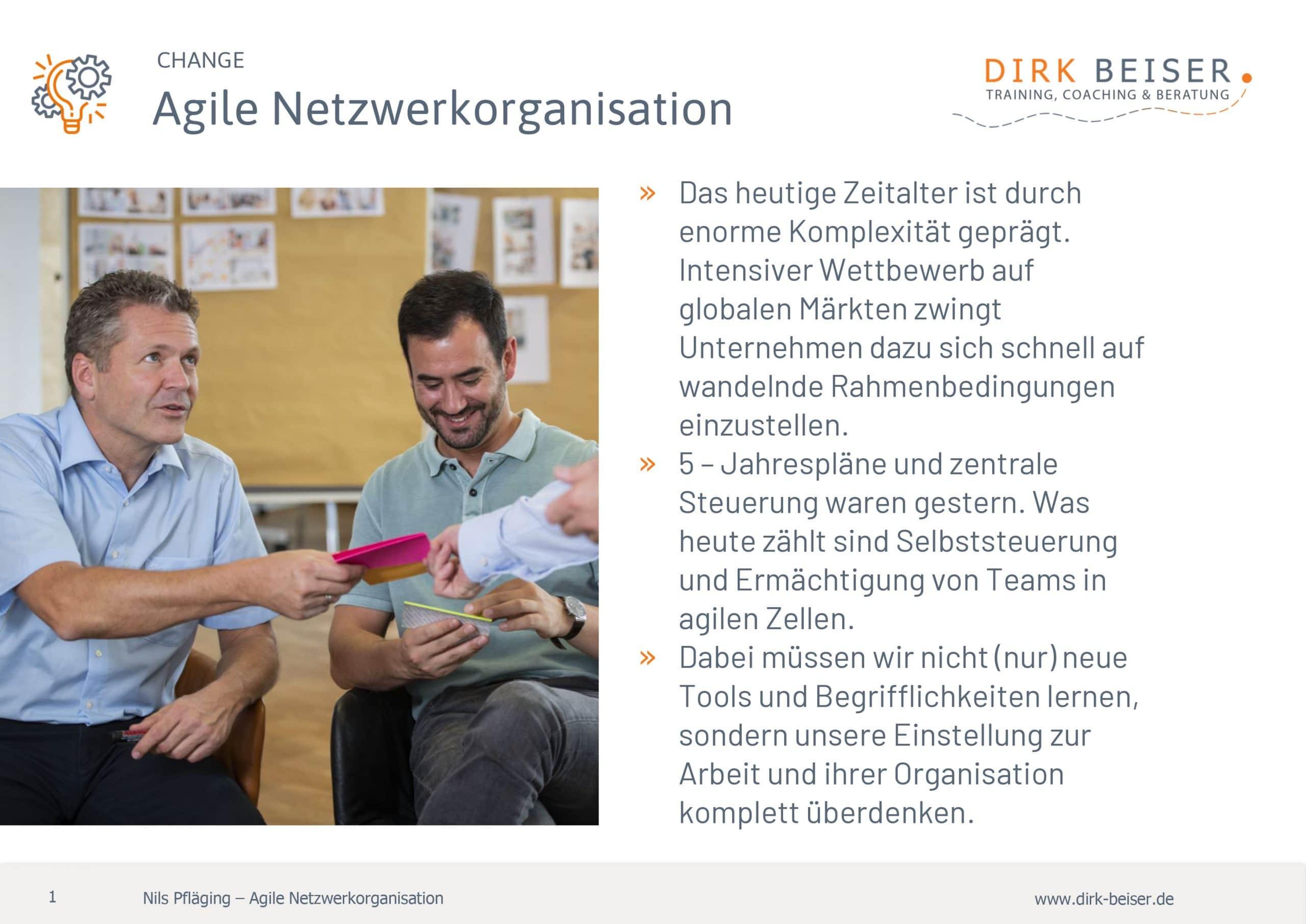 Agile Netzwerkorganisation Für Ihr Unternehmen