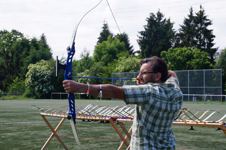 Mit Bogenschießen Fokussiert und Zielgerichtet arbeiten