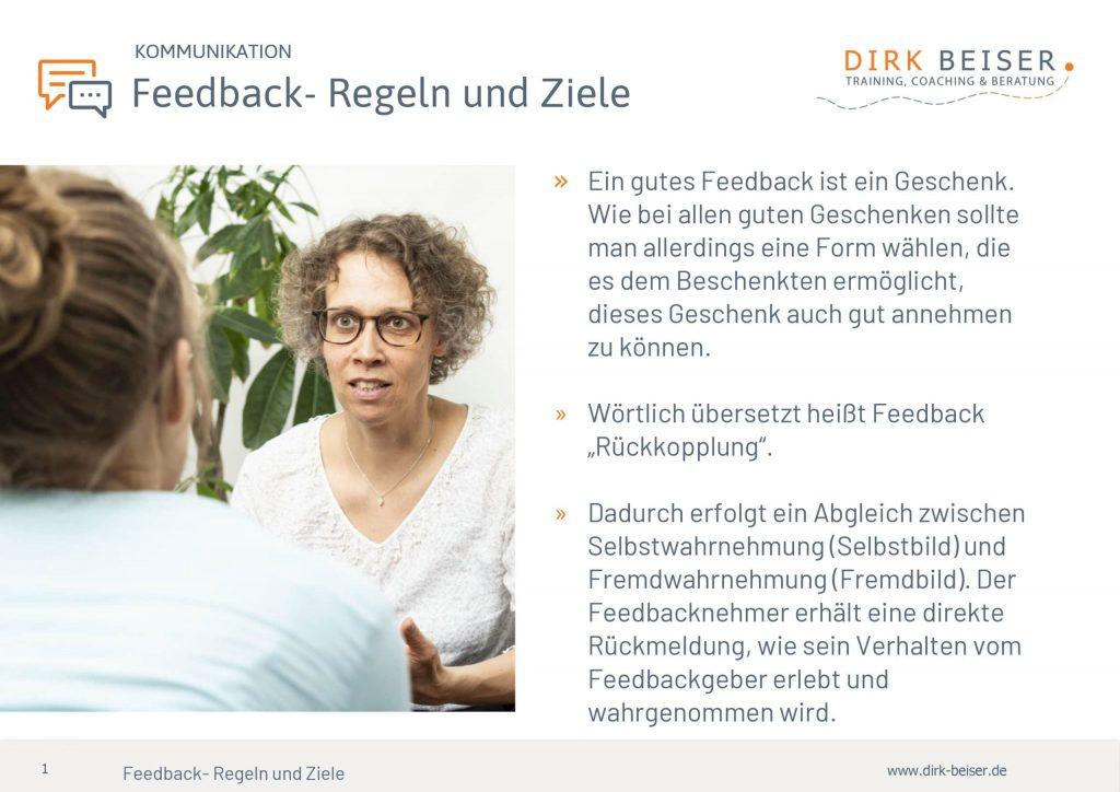 Feedback Regeln Und Ziele Für Gute Kommunikation