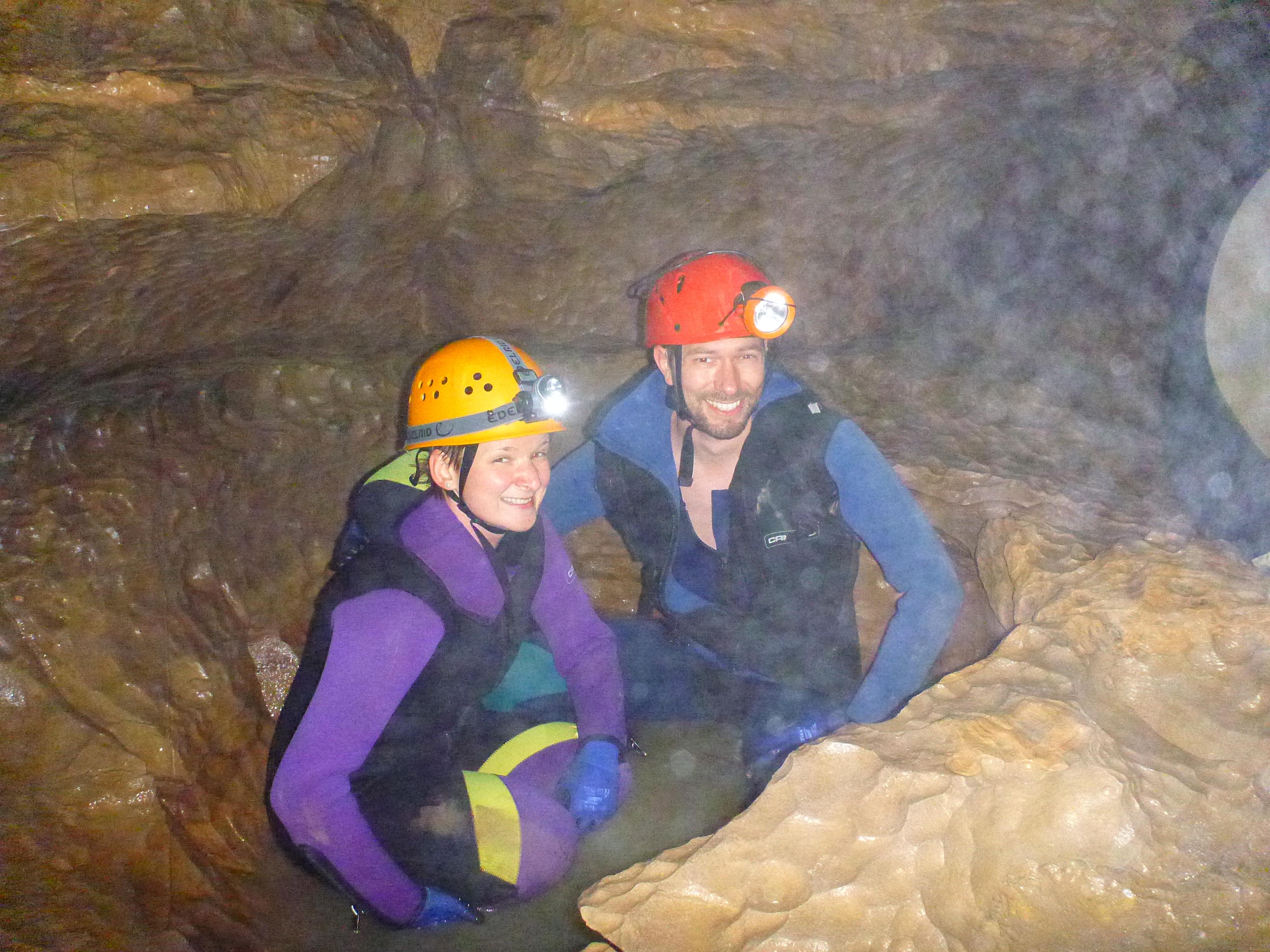 Höhlentour als Welt des MikrokosmosHöhlentour als Welt des Mikrokosmos