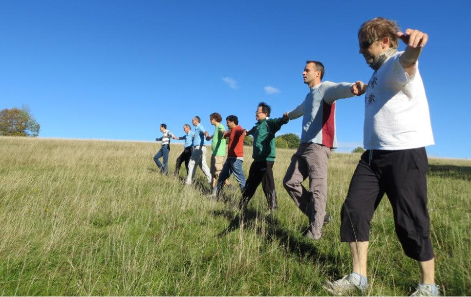 Teamaufgabe Blind Walk