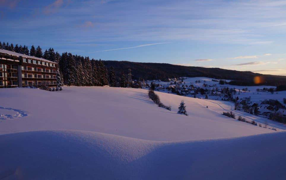 Wunderbare Winterlanschaft beim Teambuilding Schwarzwald im Winter