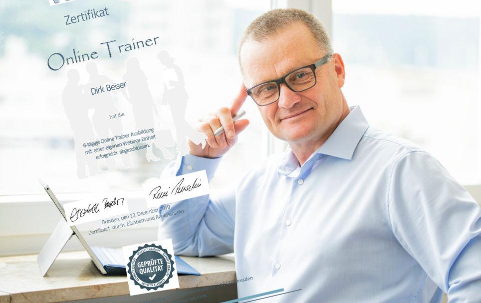 Zertifizierter Online Trainer und Online Coach