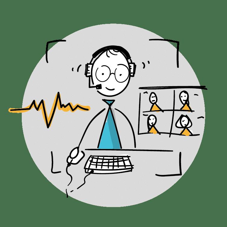 Professioneller Auftritt in Videokonferenzen