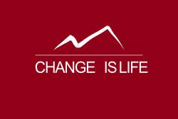 Logo Change is Life